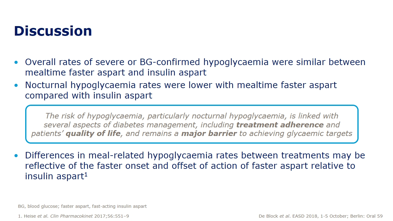 Hypoglycaemia with mealtime fast-acting insulin aspart